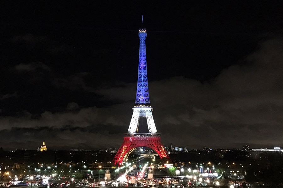 My Heart in Two Places - Paris: from sorrow to hope